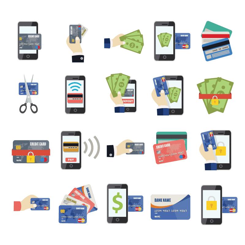 kredittkort-mange-versjoner