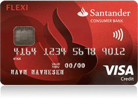 santander-flexi-visa-kredittkort