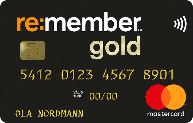 Re:member gold kreditkort