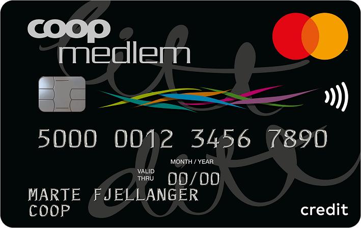 Coop kredittkort